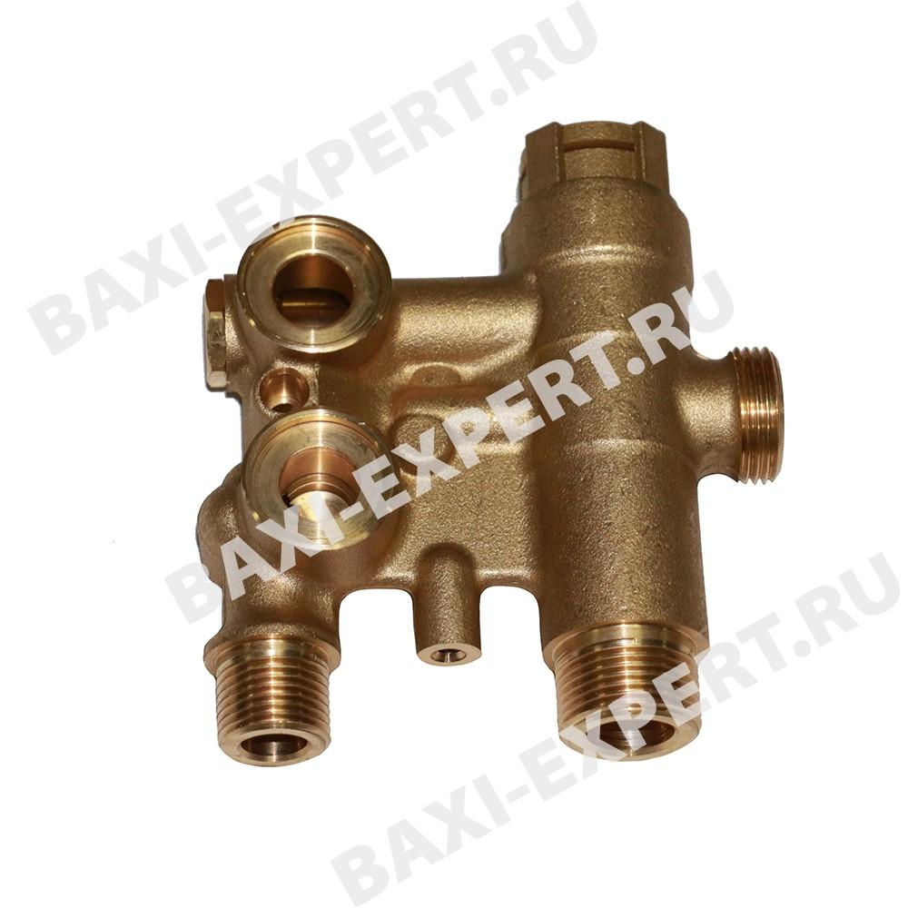 3-ходовой клапан в сборе 711606000 BAXI - оригинальная продукция от официального дилера БАКСИ - артикул 711606000