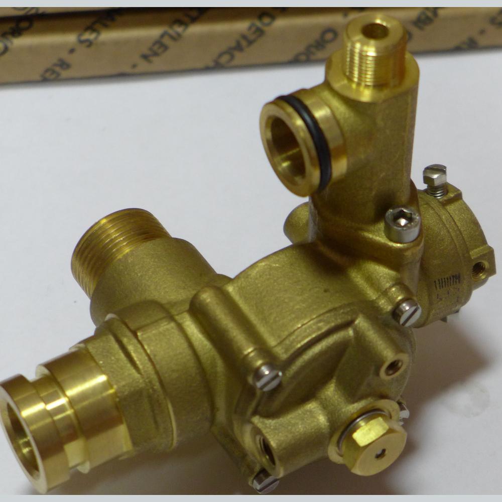 3-ходовой клапан/гидравлич. переключатель в сборе 607250 BAXI - оригинальная продукция от официального дилера БАКСИ - артикул 607250