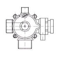 Бай-пасс/гидравлический переключатель 5628230 BAXI - оригинальная продукция от официального дилера БАКСИ - артикул 5628230